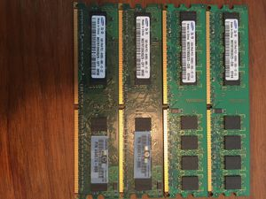 Lot of 5 Samsung 1gb ram cards for Sale in Providence, RI
