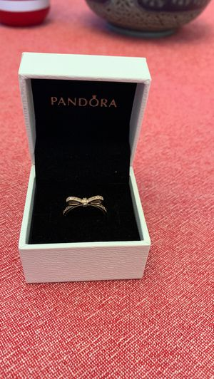 Pandora bow ring size 5.5 for Sale in Long Beach, CA