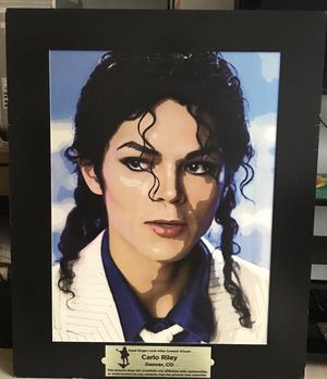 MICHAEL JACKSON (REPLICA ) PORTRAIT for Sale in Farmville, VA
