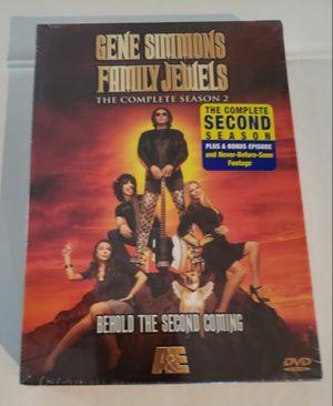 New Sealed Gene Simmons Family Jewels - Season 2 DVD for Sale in Henderson, NV