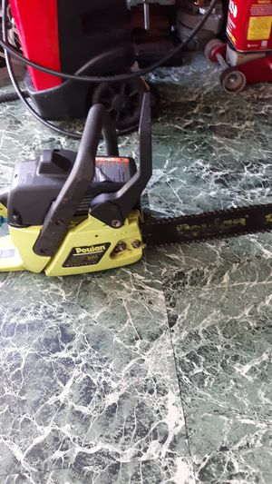 Poulan chain saw 14in bar for Sale in NW PRT RCHY, FL