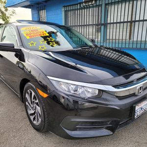 2018 HONDA CIVIC EX AUTOMATIC. LOW MILLAGE. LOW DOWNPAYMENT REQUIRED ON APPROVED CREDIT for Sale in Modesto, CA