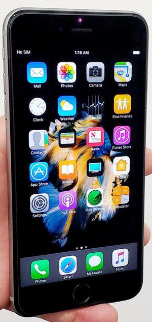 64GB UNLOCKED BIG IPHONE 6PLUS GOOD CONDITION TMOBILE ATT VERIZON METRO CRICKET AND WORKS IN EVERY COUNTRY for Sale in Atlanta, GA