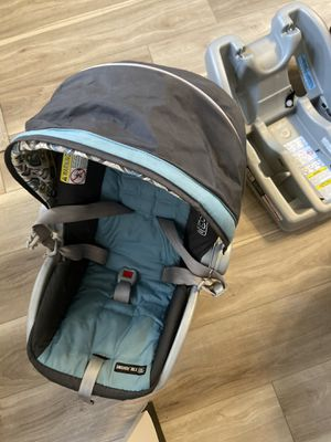 Graco infant car seat with 2 bases for Sale in Hunlock Creek, PA