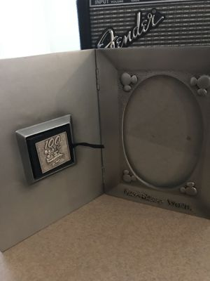 Disney 100 years of magic pin and picture frame for Sale in West Deptford, NJ