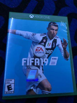 XBOX ONE FIFA 19 for Sale in Colton, CA