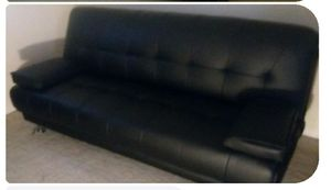 Leather Futon Bed for Sale in Port St. Lucie, FL