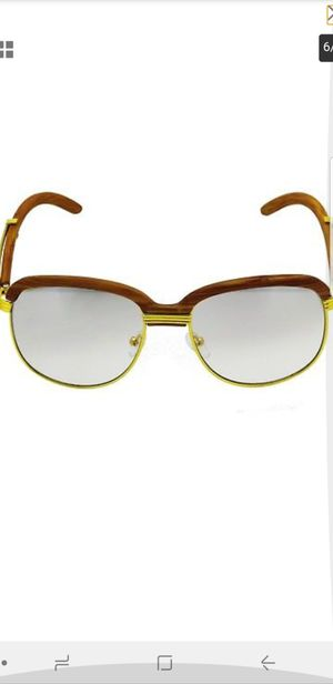 d30677310b Retro Wood Buffs Vintage Style SUN GLASSES Gold Frame Lens Mirror Tint for  Sale in Los