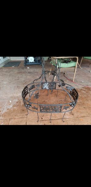 Wrought iron kitchen rack pot hanger for Sale in Homestead, FL