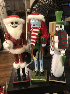 The Nightmare Before Christmas Nutcrackers for Sale in San Diego, CA