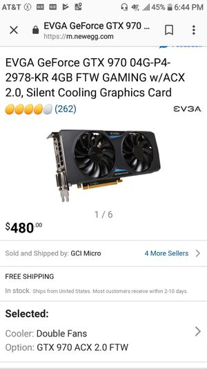 EVGA GTX 970 SSC for Sale in Baltimore, MD
