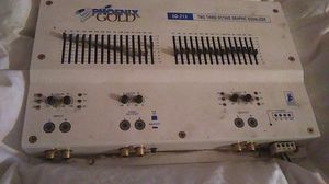 Phoenix gold eq215 two third octave graphic equalizer for Sale in Merrill, WI