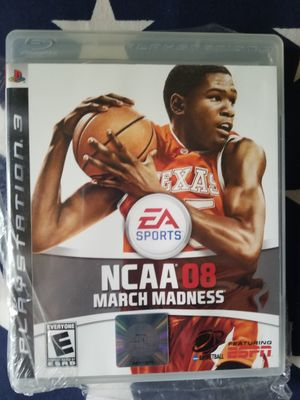 NCAA 08 MARCH MADNESS (PS3) NEW IN PLASTIC for Sale in US