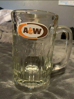 Vintage A&W Root Beer Glass Mug for Sale in Santa Fe Springs, CA