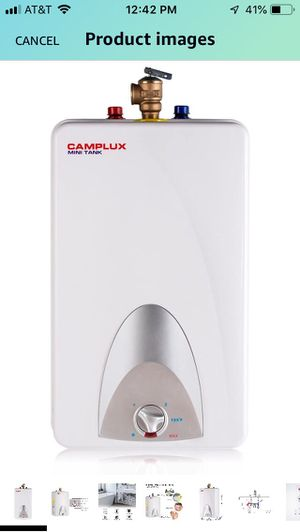 brand new CAMPLUX 4 gallon mini water heater for Sale in Monroe Township, NJ