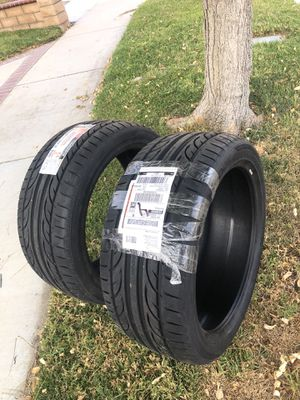 hankook ventus v12 evo 255/40zr19 100y tires for Sale in Corona, CA