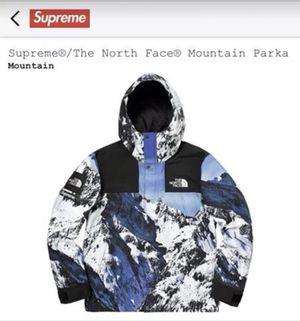 NEW SUPREME NORTH FACE PARKA for Sale in Ashburn, VA
