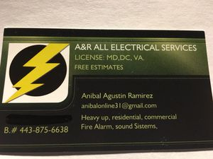 Master Electrician for Sale in Washington, DC