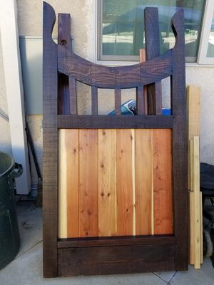 Wood fenrcing and custom Gates for Sale in Orange, CA