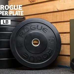 HG Rogue Bumper Plates (4)45#, (2)35#, (2)25#, (2)15#, (2)10#, (2)10#, 5#, 2.5# Fractional for Sale in Sacramento, CA
