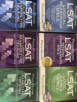 Powerscore LSAT Bibles and Training Books for Sale in Cape Coral,  FL