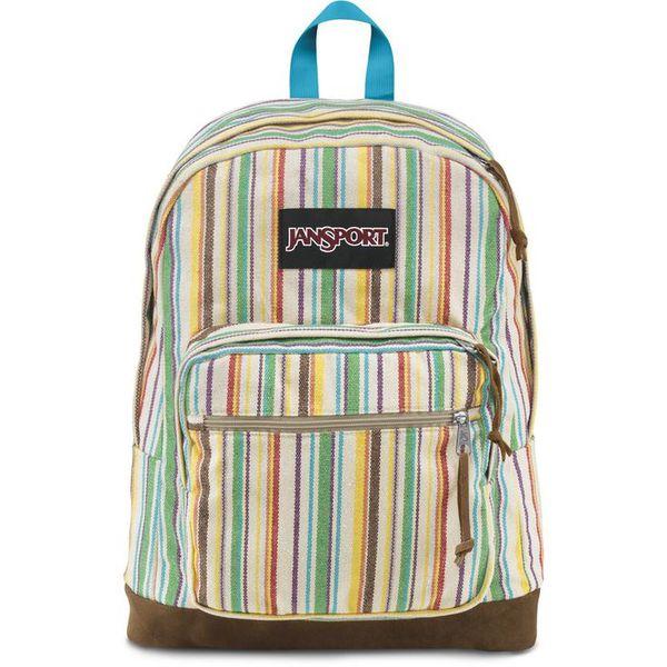 jansport backpack multi wave stripe