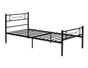 Metal Platform Bed Frame and Headboard Twin Full Size A12-9317 for Sale in St. Louis, MO