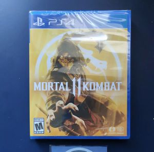 Mortal Kombat 11 Sealed Copy PS4 for Sale in Glendale, AZ