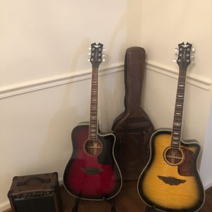 Brand New Acoustic Guitar w/Free Practice Amp for Sale in Bolivar, WV