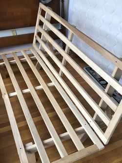 Wooden Futon Frame for Sale in Medford,  MA
