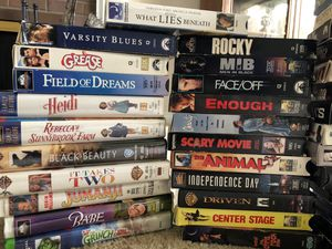 VHS—Variety of movies, sports/fitness, and religion for Sale in Bellevue, WA