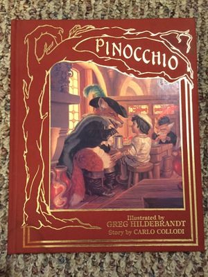 Pinocchio 1986 - Mint Condition Book, Signed by Greg Hildebrandt! for Sale in Watsontown, PA
