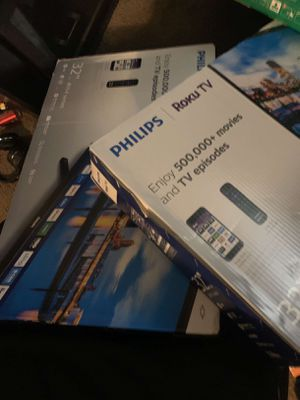Brand new 32 inch Phillips roku tv for Sale in Columbus, OH