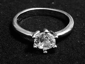 Sterling Silver round CZ Ring for Sale in Las Vegas, NV