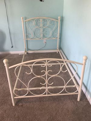 Twin size bed frame with box spring for Sale in Moncks Corner, SC