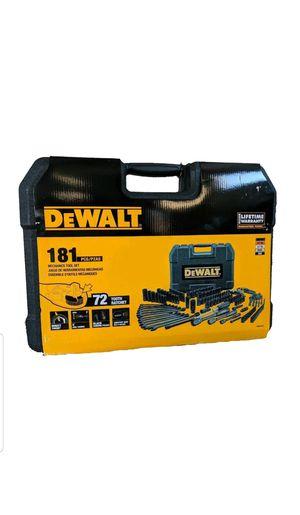 Brand new Dewalt 181 mechanic black chrome piece set. for Sale in Centreville, VA