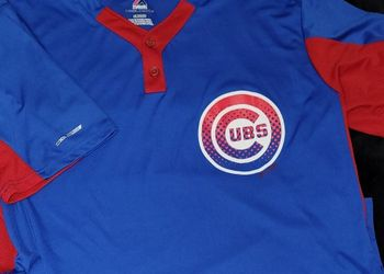 Majestic MLB Chicago Cubs Baseball Cool Base Jersey Men Size xl for Sale in Chesapeake,  VA