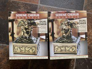 Serene Cherub fountain for Sale in Providence, RI