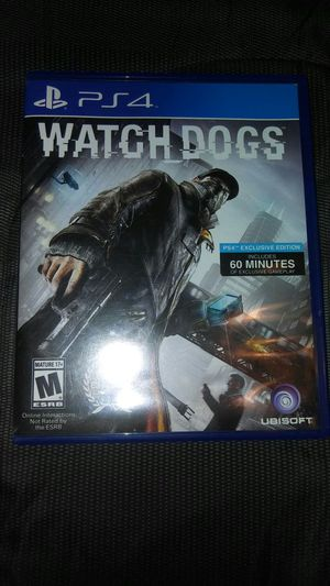 Watch Dogs Ps4 for Sale in Orlando, FL