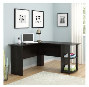 🔥BRAND NEW L SHAPED DESK WITH BOOK SHELVES HOME OFFICE KIDS DISTANCE LEARNING for Sale in Los Angeles, CA