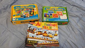 Learning puzzles and games for Sale in Mill Creek, WA