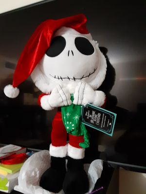 "Jack Skellington Nightmare Before Christmas 24"" Holiday Greeter NEW W/ TAGS 2020. for Sale in Miami, FL"