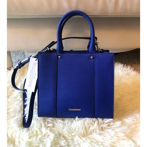 Blue Rebecca minkoff leather tote Bag New for Sale in Arlington Heights, IL