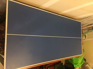 Kids air hockey and ping pong table. Works great! for Sale in Gastonia, NC