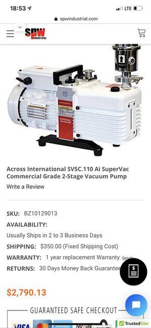 Vacuum pump supervac for Sale in South Gate, CA
