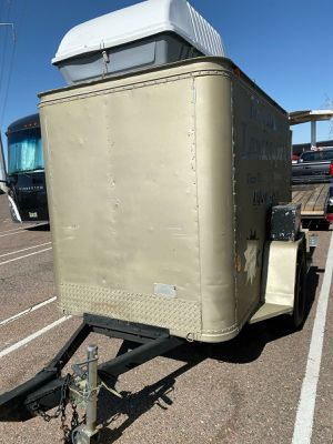 5x8 enclosee trailer priced to sell for Sale in Mesa, AZ