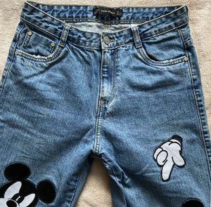 Rare Zara Disney Mickey Jeans for Sale in Cerritos, CA