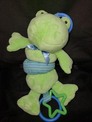 "Koala baby plush frog stroller toy (vibrates & croaks) 9"" for Sale in Zanesville, OH"