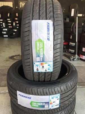 BRAND NEW SET OF TIRES 235/45r18 235/45/18 for Sale in Rialto, CA