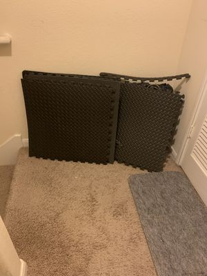 Treadmill mat 6 pieces for Sale in Humble, TX